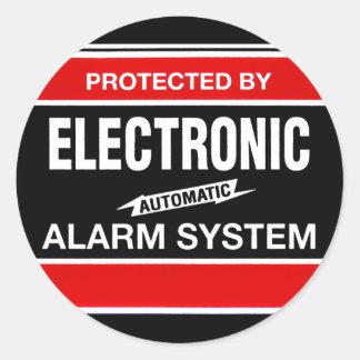Electronic Alarm System Sticker