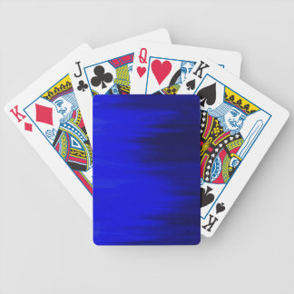 Electronic Blue Playing Cards