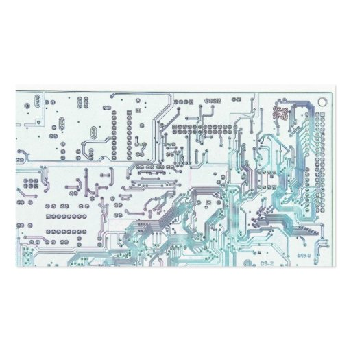 electronic circuit board business card template zazzle