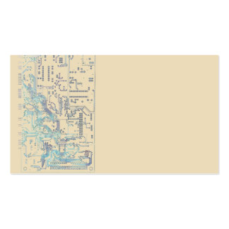 electronic circuit board pack of standard business cards