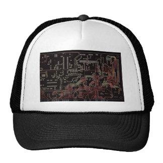 electronic circuit trucker hats