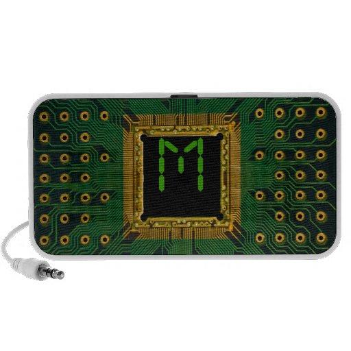 electronic circuit IC iPod Speakers