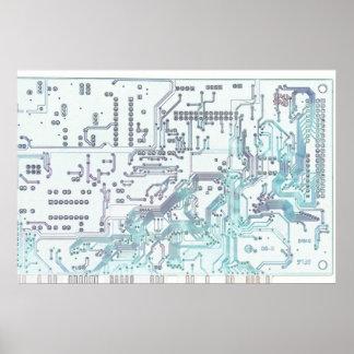 electronic circuit print