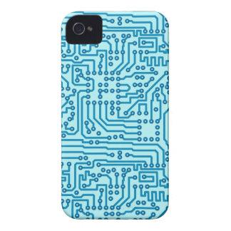 Electronic Digital Circuit Board iPhone 4 Covers