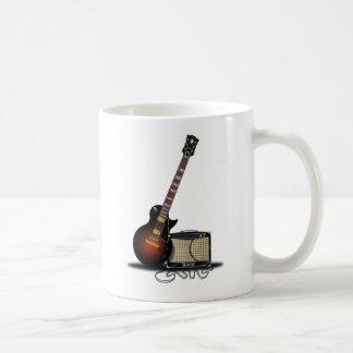 Electronic Guitar Basic White Mug