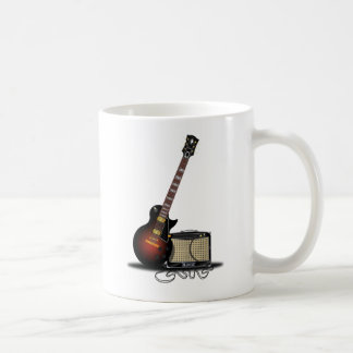 Electronic Guitar Coffee Mug