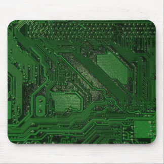 Electronic High Tech Technology Circuit Board Mouse Pad