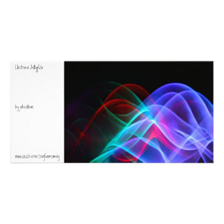 Electronic Jellyfish Picture Card