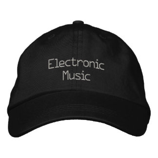 Electronic Music Baseball Cap