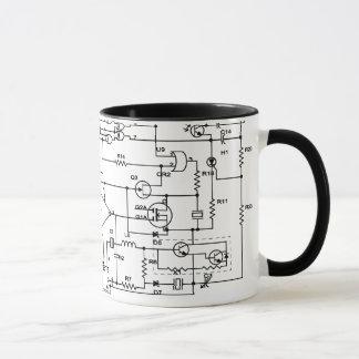 electronic project mug