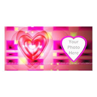 Electronic Valentine Custom Photo Card