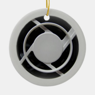 Electronics Cooling Fan Circle Ornament