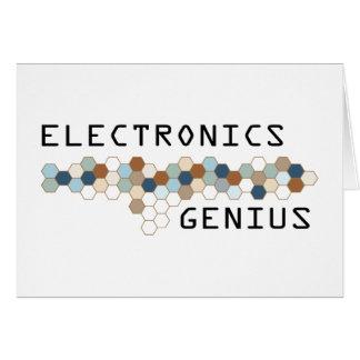 Electronics Genius Cards