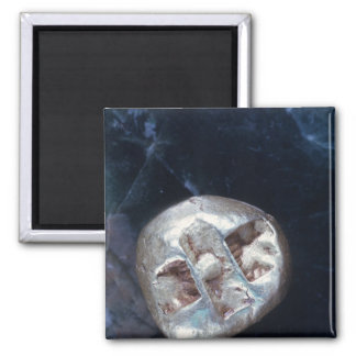 Electrum stater, c.600 BC Square Magnet