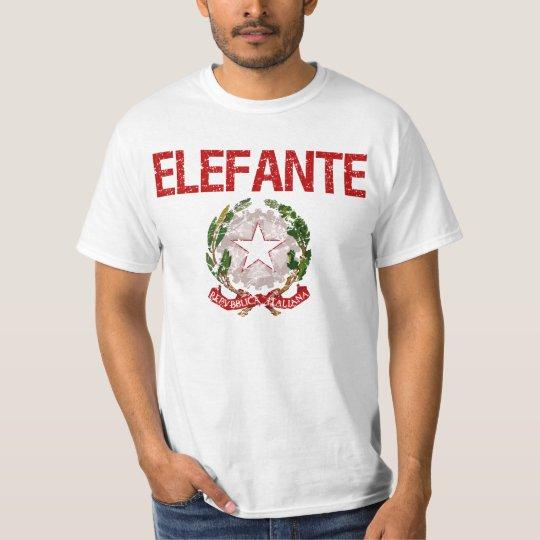 Elefante Italian Surname T-Shirt