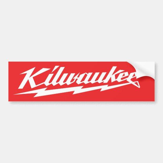 Elefent Industries killwaukee board Bumper Sticker