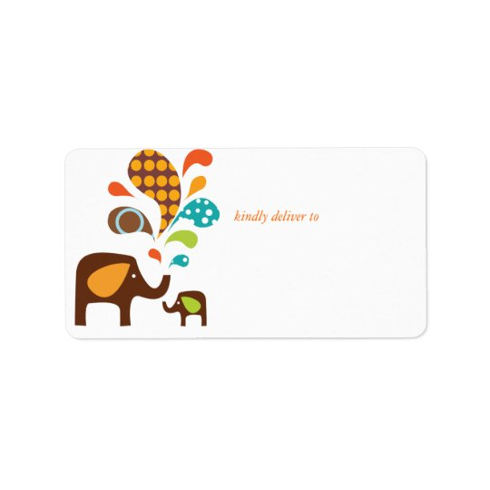 elefun address label