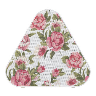 Elegance color peony pattern on white