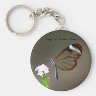 Elegance from nature key chains