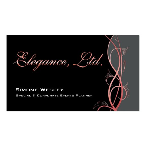 Elegance Gala Events Planner Coordinator