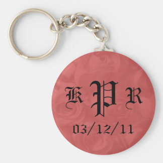 """Elegance In Shades of Blush Pink"" [a] Key Chains"