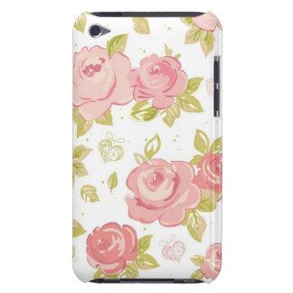 Elegance wallpaper pattern of pink roses 3 iPod Case-Mate case