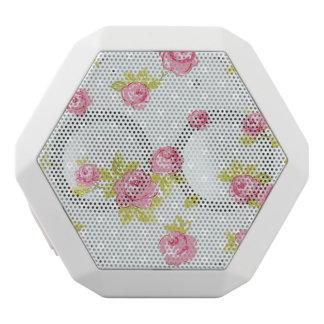 Elegance wallpaper pattern of pink roses 4 white boombot rex bluetooth speaker