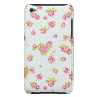 Elegance wallpaper pattern of pink roses 4 iPod touch covers