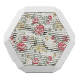 Elegance wallpaper pattern of pink roses white boombot rex bluetooth speaker