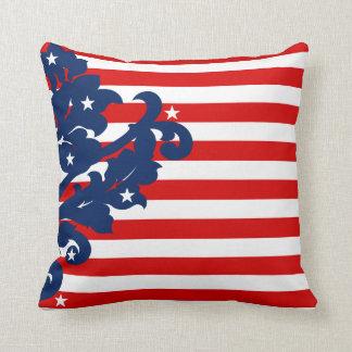 Elegant 4th of July patriotic Cushion