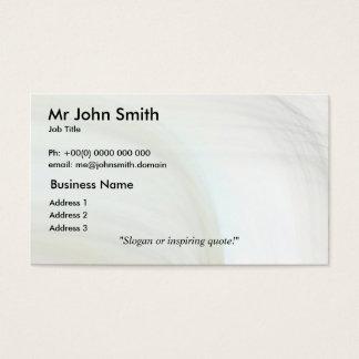 Elegant 7 business card