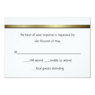 Elegant All Purpose Wedding Response Card