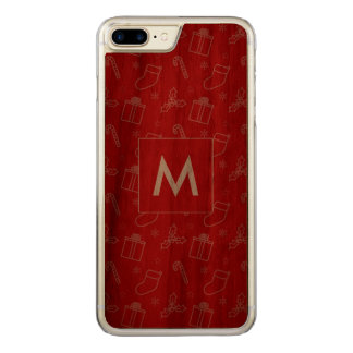 Elegant Always Christmas Carved iPhone 7 Plus Case