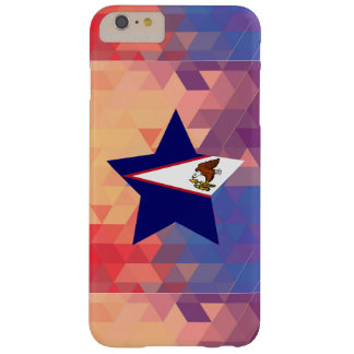 Elegant American Samoa flag heart Barely There iPhone 6 Plus Case