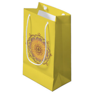 Elegant and Colourful Mandala Small Favour Bag
