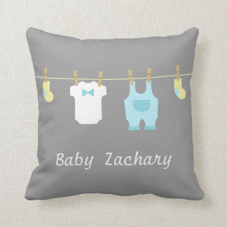 Elegant and Cute Baby Boy Clothes, Baby Boy Throw Pillow