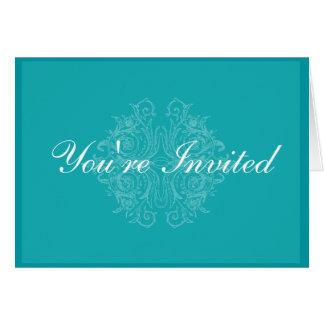 Elegant and Formal Invitation Card
