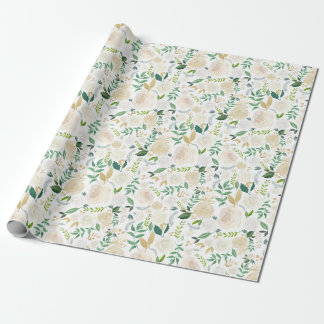 Elegant and Romantic Woodland Wrapping Paper