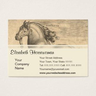 Elegant Antique Engraving of Spanish Horse