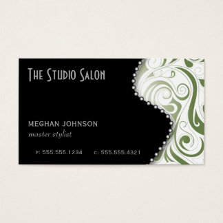 Elegant Appointment Business Card Sage