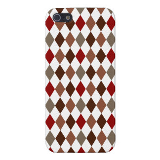 Elegant Argyle Diamond Pattern iPhone 5 Case