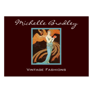 Elegant Art Deco Fashion Business Card Template