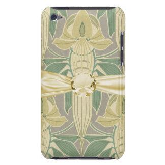 elegant art nouveau flora vintage art barely there iPod covers