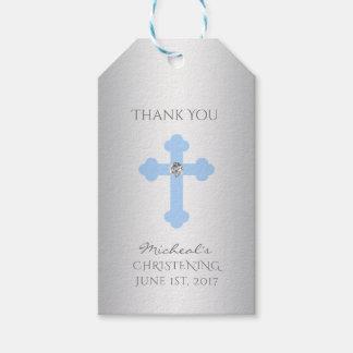 Elegant Baby Blue Cross Baptism/Christening Boy