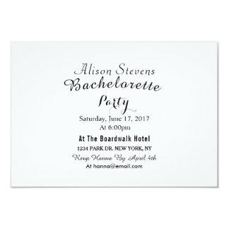 Elegant  Bachelorette Party Invitation