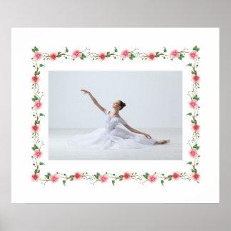 Elegant Ballerina Photo Poster-SRF Poster