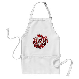 Elegant, Beautiful Rose Apron