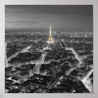 Elegant Beauty of Paris Nights Poster