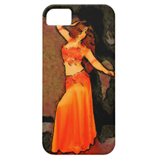 Elegant bellydancer iPhone case