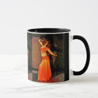 Elegant Bellydancer Mug